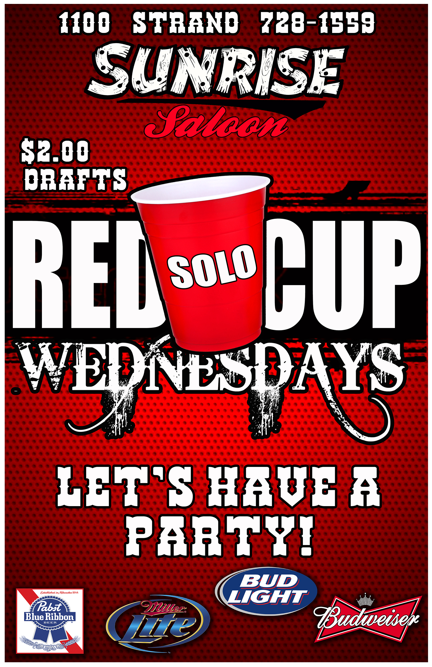 RED SOLO CUP WEDNESDAYS